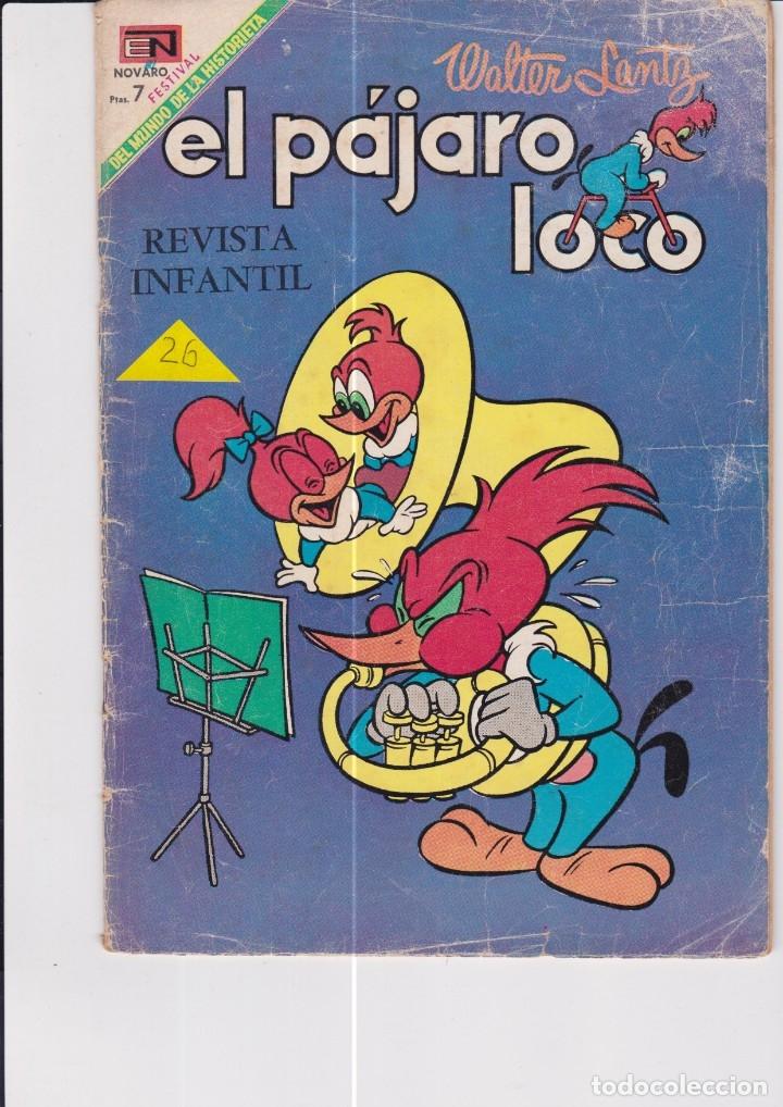 EL PÁJARO LOCO Nº 318 (Tebeos y Comics - Novaro - Otros)