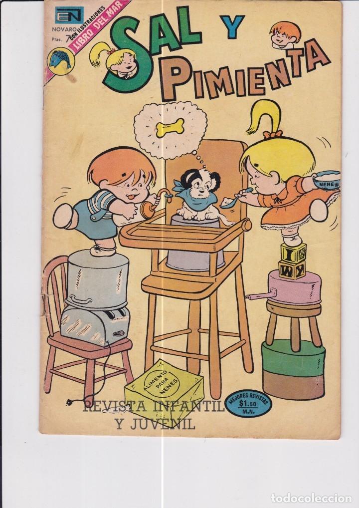 SAL Y PIMIENTA NÚMERO 104 (Tebeos y Comics - Novaro - Otros)