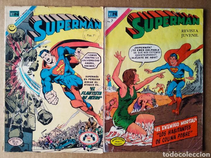 LOTE SUPERMÁN (NOVARO, 1972). NÚMEROS 864-889. 36 PÁGINAS A COLOR CADA EJEMPLAR. (Tebeos y Comics - Novaro - Superman)