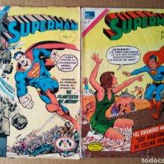 Tebeos: LOTE SUPERMÁN (NOVARO, 1972). NÚMEROS 864-889. 36 PÁGINAS A COLOR CADA EJEMPLAR.. Lote 170354605