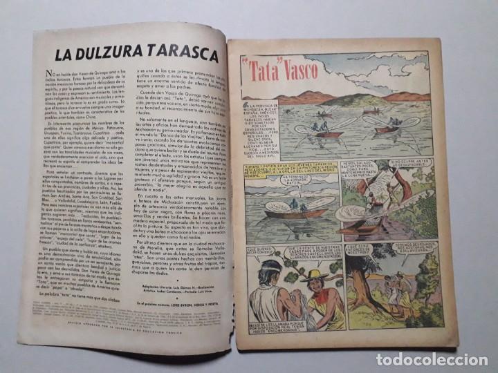 Tebeos: Vidas ilustres n° 40 - Tata Vasco - original editorial Novaro - Foto 2 - 170405844