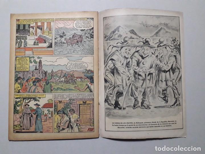 Tebeos: Vidas ilustres n° 40 - Tata Vasco - original editorial Novaro - Foto 3 - 170405844