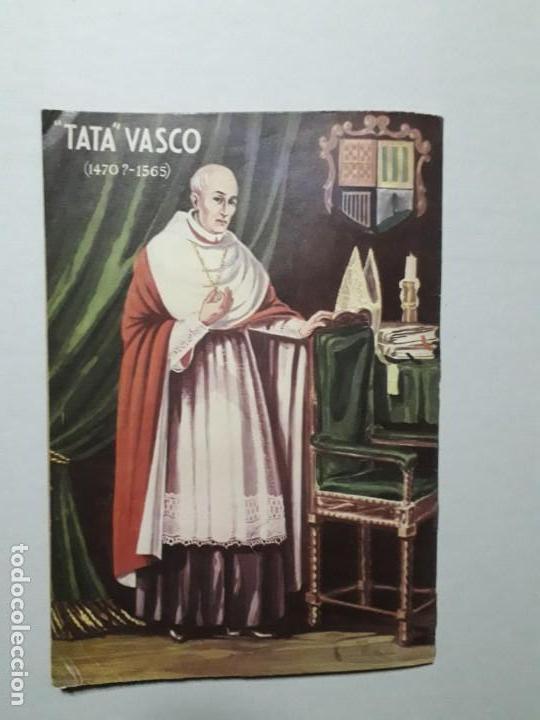 Tebeos: Vidas ilustres n° 40 - Tata Vasco - original editorial Novaro - Foto 4 - 170405844