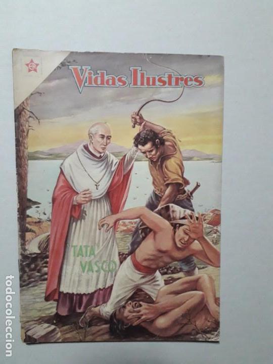 VIDAS ILUSTRES N° 40 - TATA VASCO - ORIGINAL EDITORIAL NOVARO (Tebeos y Comics - Novaro - Vidas ilustres)