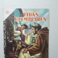 Tebeos: VIDAS EJEMPLARES N° 119 - SAN FRANCISCO SOLANO - ORIGINAL EDITORIAL NOVARO. Lote 170406072