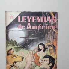 Tebeos: LEYENDAS DE AMÉRICA N° 53 - NOCHE DE LUNA - ORIGINAL EDITORIAL NOVARO. Lote 170408536