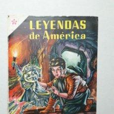 Tebeos: LEYENDAS DE AMÉRICA N° 51 - EL ENANO DE ESTAÑO - ORIGINAL EDITORIAL NOVARO. Lote 170408684
