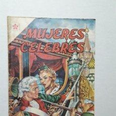 Tebeos: MUJERES CÉLEBRES N° 3 - CATALINA LA GRANDE - ORIGINAL EDITORIAL NOVARO. Lote 170408904