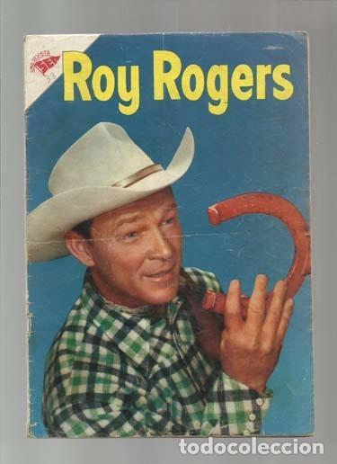ROY ROGERS 33, 1955, NOVARO, BUEN ESTADO. COLECCIÓN A.T. (Tebeos y Comics - Novaro - Roy Roger)