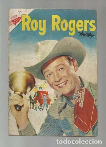 ROY ROGERS 37, 1955, NOVARO. COLECCIÓN A.T. (Tebeos y Comics - Novaro - Roy Roger)