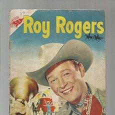 Tebeos: ROY ROGERS 37, 1955, NOVARO. COLECCIÓN A.T.. Lote 170600190