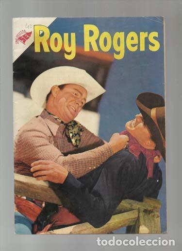 ROY ROGERS 40, 1955, NOVARO, MUY BUEN ESTADO. COLECCIÓN A.T. (Tebeos y Comics - Novaro - Roy Roger)