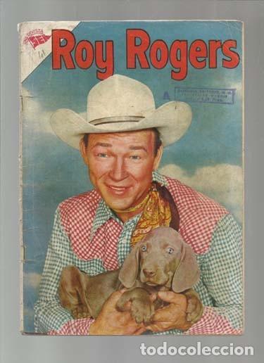 ROY ROGERS 41, 1956, NOVARO. COLECCIÓN A.T. (Tebeos y Comics - Novaro - Roy Roger)