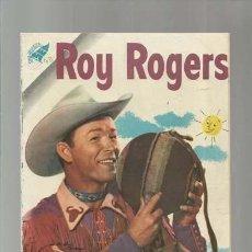 Livros de Banda Desenhada: ROY ROGERS 43, 1956, NOVARO, ENCUADERNACIÓN. COLECCIÓN A.T.. Lote 170601930