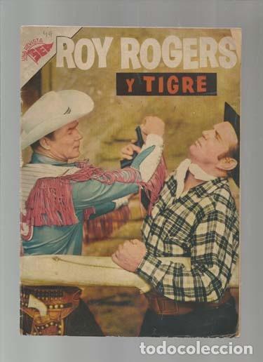 ROY ROGERS 49, 1956, NOVARO, USADO. COLECCIÓN A.T. (Tebeos y Comics - Novaro - Roy Roger)