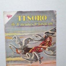 Tebeos: TESORO DE CUENTOS CLÁSICOS N° 40 - LOS HERMANOS CISNES - ORIGINAL EDITORIAL NOVARO. Lote 170693590
