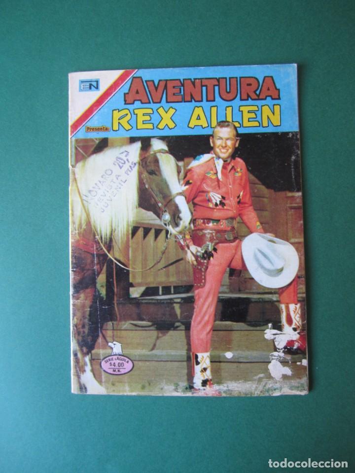 AVENTURA (1954, SEA / NOVARO) 893 · 3-III-1979 · REX ALLEN (Tebeos y Comics - Novaro - Aventura)