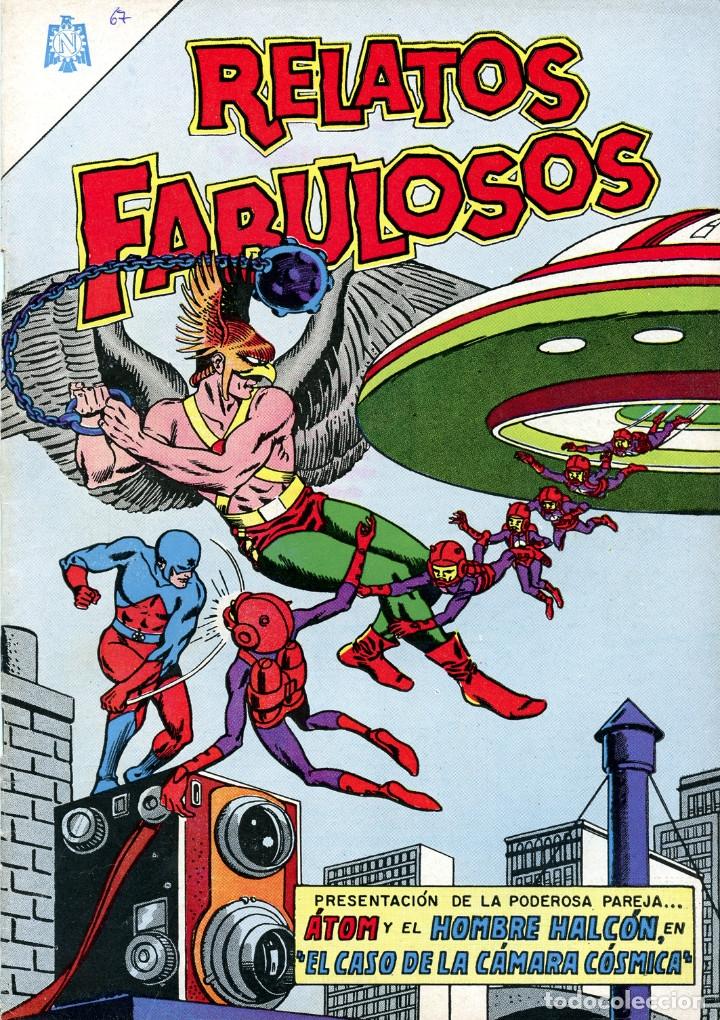 RELATOS FABULOSOS EDITORIAL NOVARO// REIMPRESIONES DE EXCELENTE CALIDAD (Tebeos y Comics - Novaro - Sci-Fi)