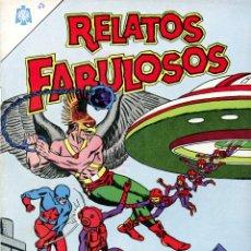 Tebeos: RELATOS FABULOSOS EDITORIAL NOVARO// REIMPRESIONES DE EXCELENTE CALIDAD. Lote 233432265