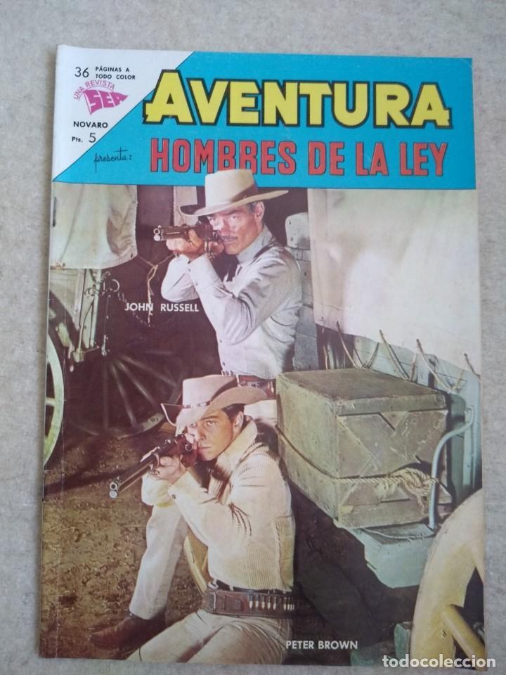 AVENTRURA Nº 297 - HOMBRES DE LEY D3 (Tebeos y Comics - Novaro - Aventura)