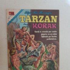Tebeos: TARZAN PRESENTA KORAK. Nº 287. NOVARO. LPZ.. Lote 171356237