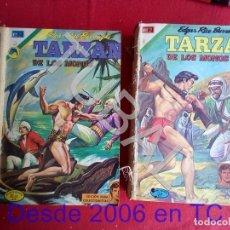 Tebeos: TUBAL 50 NUMEROS DE KORAK Y TARZAN GRANDES NOVARO EN 2 TACOS CUBIERTAS EXCEPTO EL 275. Lote 171367843