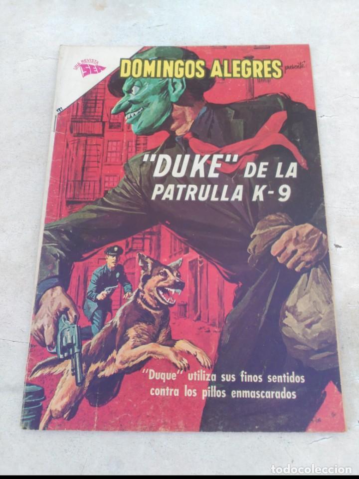 DOMINGOS ALEGRES Nº 499 DUKE DE LA PATRULLA K-9 (Tebeos y Comics - Novaro - Domingos Alegres)