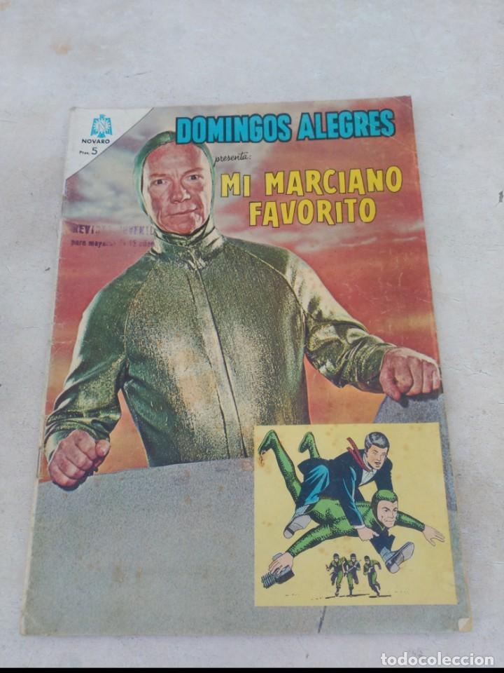 DOMINGOS ALEGRES Nº 575 MI MARCIANO FAVORITO (Tebeos y Comics - Novaro - Domingos Alegres)