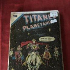 Tebeos: NOVARO TITANES PLANETARIOS NUMERO 356 NORMAL ESTADO. Lote 171795140