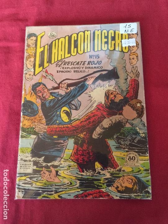 SIMILAR -NOVARO EL HALCON NEGRO NUMERO 15 NORMAL ESTADO (Tebeos y Comics - Novaro - Sci-Fi)