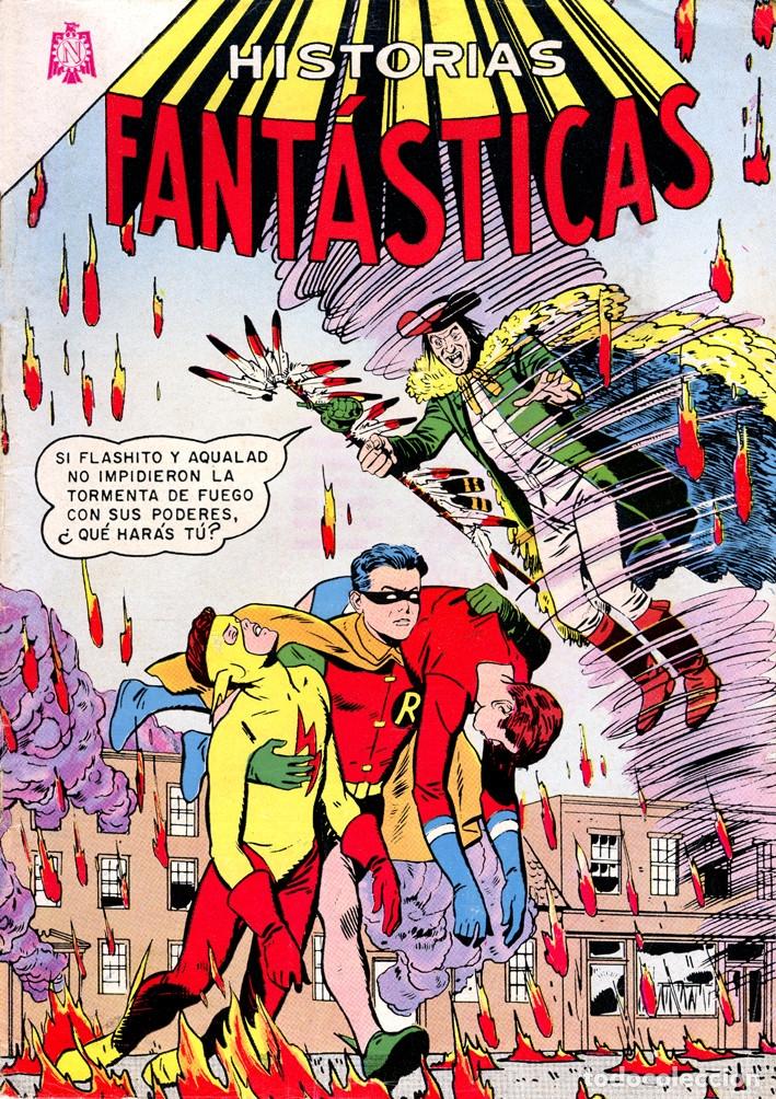 HISTORIAS FANTÁSTICAS 127// EDITORIAL NOVARO/ TEEN TITANS//REIMPRESIONES EXCELENTE CALIDAD (Tebeos y Comics - Novaro - Sci-Fi)