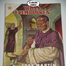 Tebeos: FRAY MARTIN DE PORRES, VIDAS EJEMPLARES Nº 129, NOVARO, MUY DIFICIL; ER 6F. Lote 172241377