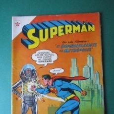 Tebeos: SUPERMAN (1952, ER / NOVARO) 105 · 1-VIII-1957 · SUPERMÁN. Lote 172372209