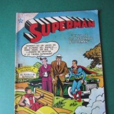Tebeos: SUPERMAN (1952, ER / NOVARO) 56 · 9-VIII-1955 · SUPERMÁN. Lote 172372483