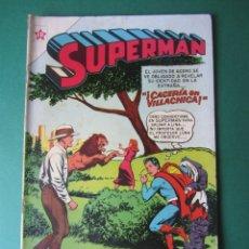 Tebeos: SUPERMAN (1952, ER / NOVARO) 52 · 14-VI-1955 · SUPERMÁN. Lote 172372739