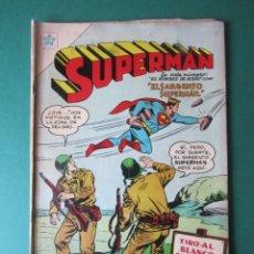 Tebeos: SUPERMAN (1952, ER / NOVARO) 79 · VI-1956 · SUPERMÁN. Lote 172373109