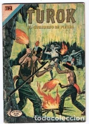 Tebeos: TUROK NOVARO SERIE COLIBRI 1975/1976 LOTE DE 4 COMICS #S 7, 10, 12 Y 1-18 DIFICILES MUY BUEN ESTADO - Foto 2 - 172377490