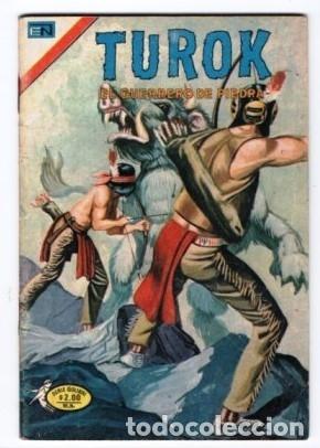 Tebeos: TUROK NOVARO SERIE COLIBRI 1975/1976 LOTE DE 4 COMICS #S 7, 10, 12 Y 1-18 DIFICILES MUY BUEN ESTADO - Foto 4 - 172377490