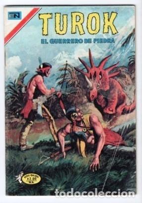 Tebeos: TUROK NOVARO SERIE COLIBRI 1975/1976 LOTE DE 4 COMICS #S 7, 10, 12 Y 1-18 DIFICILES MUY BUEN ESTADO - Foto 5 - 172377490