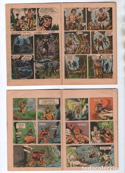 Tebeos: TUROK NOVARO SERIE COLIBRI 1975/1976 LOTE DE 4 COMICS #S 7, 10, 12 Y 1-18 DIFICILES MUY BUEN ESTADO - Foto 6 - 172377490