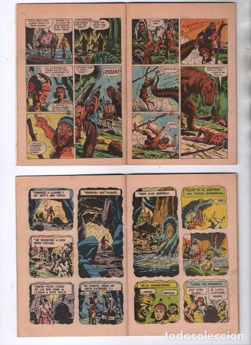 Tebeos: TUROK NOVARO SERIE COLIBRI 1975/1976 LOTE DE 4 COMICS #S 7, 10, 12 Y 1-18 DIFICILES MUY BUEN ESTADO - Foto 7 - 172377490