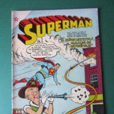 Tebeos: SUPERMAN (1952, ER / NOVARO) 65 · 1-XII-1955 · SUPERMÁN. Lote 172378412