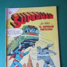 Tebeos: SUPERMAN (1952, ER / NOVARO) 63 · 1-XI-1955 · SUPERMÁN. Lote 172378468