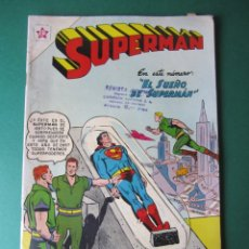 Tebeos: SUPERMAN (1952, ER / NOVARO) 109 · 1-X-1957 · SUPERMÁN. Lote 172380303