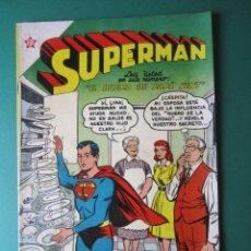 Tebeos: SUPERMAN (1952, ER / NOVARO) 70 · 15-II-1956 · SUPERMÁN. Lote 172396140