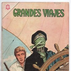 Tebeos: GRANDES VIAJES # 30 NOVARO 1965 SLOCUM Y SU CASCARA DE NUEZ MUY BUEN ESTADO. Lote 172413384
