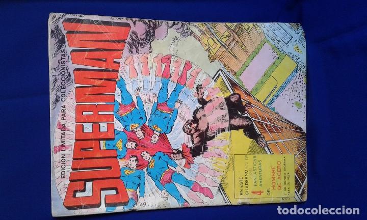 COMIC SUPERMAN EDICION LIMITADA COLECCIONISTAS 1976 (Tebeos y Comics - Novaro - Superman)