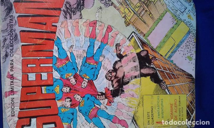 Tebeos: COMIC SUPERMAN EDICION LIMITADA COLECCIONISTAS 1976 - Foto 2 - 172566202