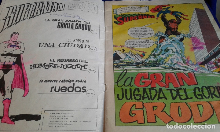 Tebeos: COMIC SUPERMAN EDICION LIMITADA COLECCIONISTAS 1976 - Foto 3 - 172566202