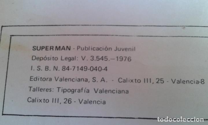 Tebeos: COMIC SUPERMAN EDICION LIMITADA COLECCIONISTAS 1976 - Foto 4 - 172566202